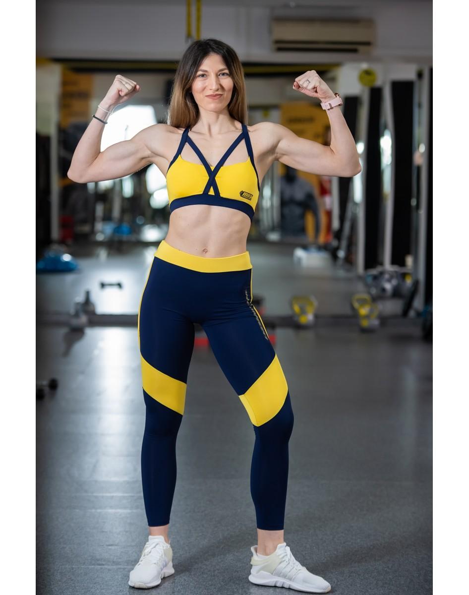Set Fitness - Colanti +Bluza